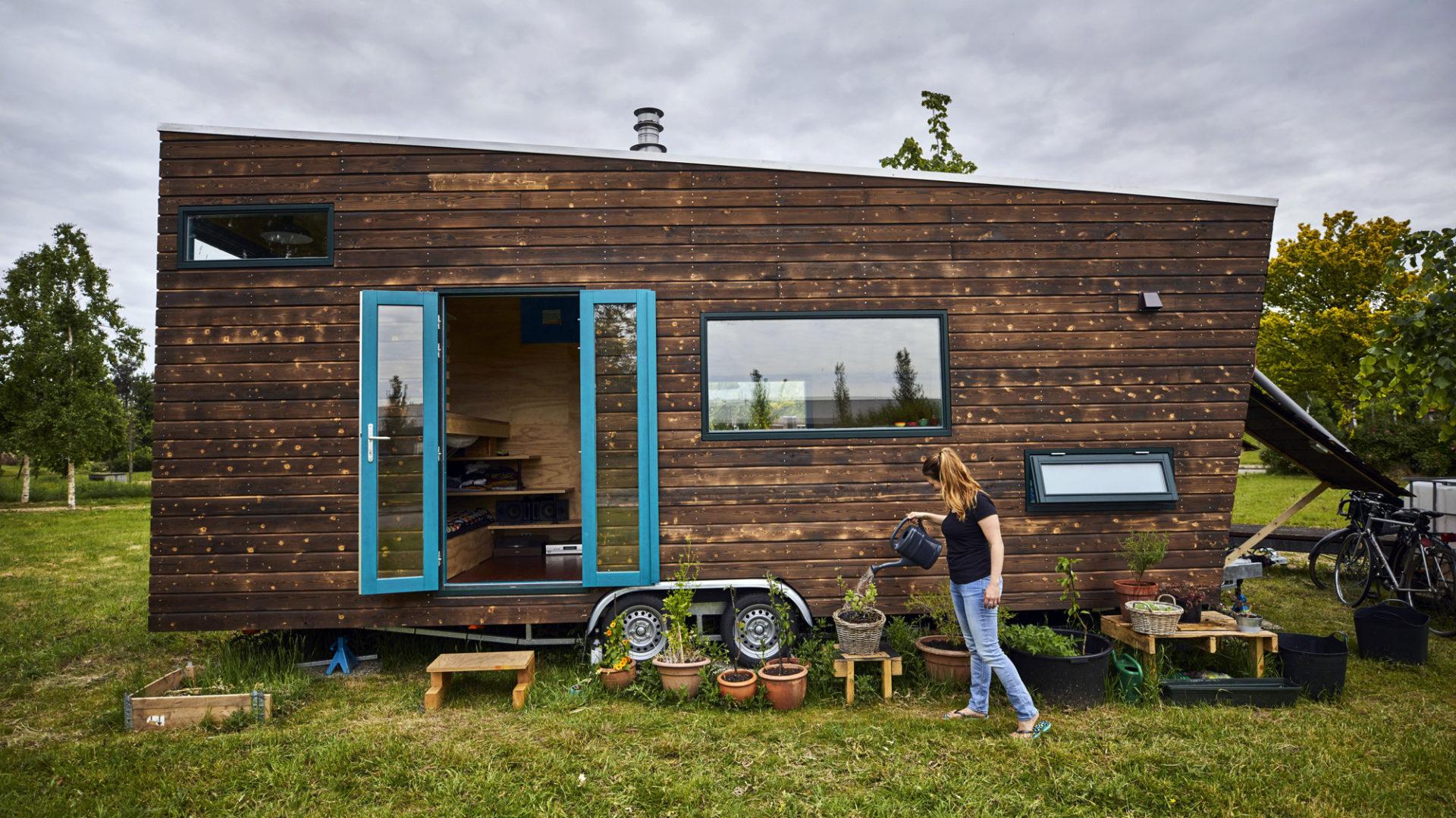 tiny house op concept house village rotterdam circulair rotterdam circulair. Black Bedroom Furniture Sets. Home Design Ideas