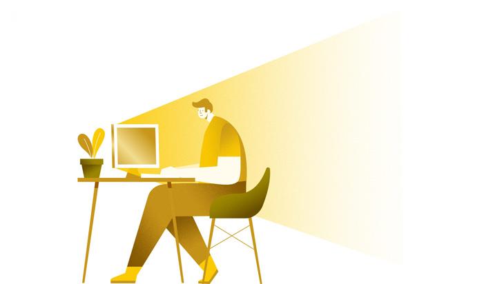Computer illustratie